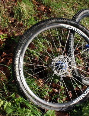 ENVE's carbon Twenty9 XC wheels promise a stiff yet smooth ride but they don't come cheap, at upwards of £2,000