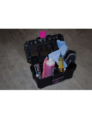 Muc-Off's bike kit will help keep your bike in tip-top condition