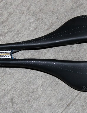 Selle Italia's SLR Superflow is almost more hole than saddle