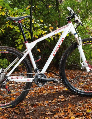 The Zaskar 9R Expert is heavier than an equivalent 26er but the big-wheeled ride makes up for it