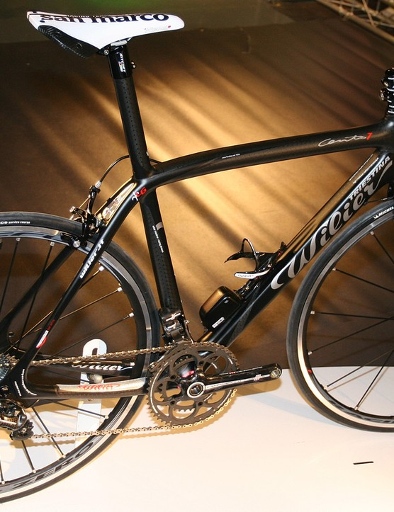Wilier Cento Uno SL with Campagnolo EPS