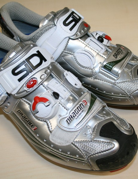 Sidi's Dragon 3 Carbon shoes are top quality - as you'd expect for £310