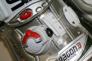 The Dragon 3 Carbons use Sidi's Tecno II closure system