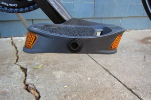 The Ergon PC2's concave platform feels very natural underfoot and contours well to most shoes we tried. The platforms are canted at six degrees, too, for more natural biomechanics that you can genuinely feel while pedaling