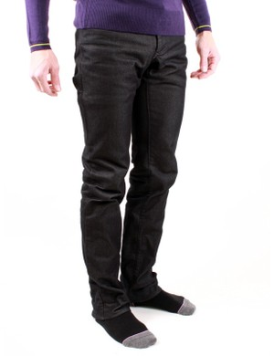 Rapha's limited edition dark jeans were part of a collaborative project with Selectism