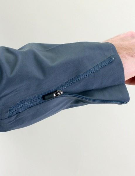 The cuffs on Nau's rebound jacket