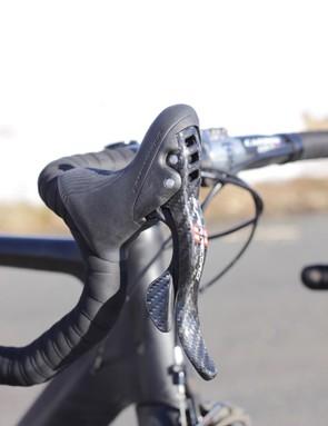 Campagnolo's Super Record ErgoPower shift levers