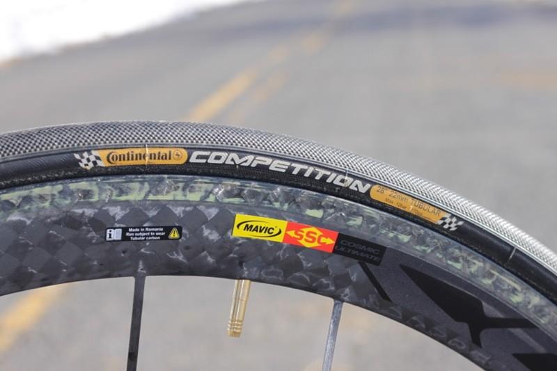 Mavic's stellar CCU wheelset rolls on Continental's Competition tires