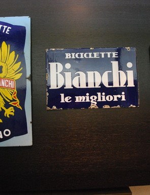 The Bianchi logo through the ages
