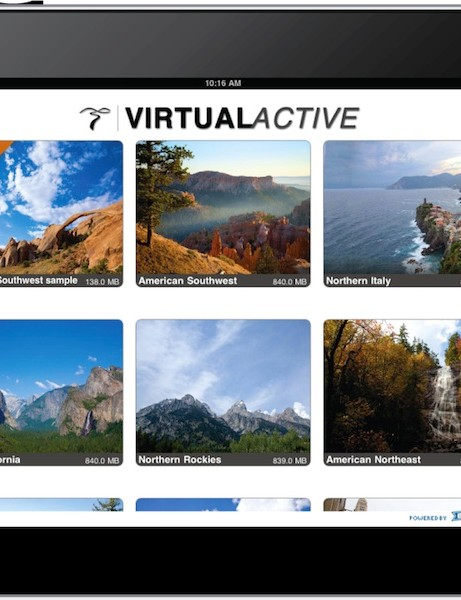 Virtual Active's new iOS app brings interactive riding scenes to mobile devices