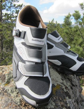 Shimano's M162 trail shoes are great performers, regardless of price