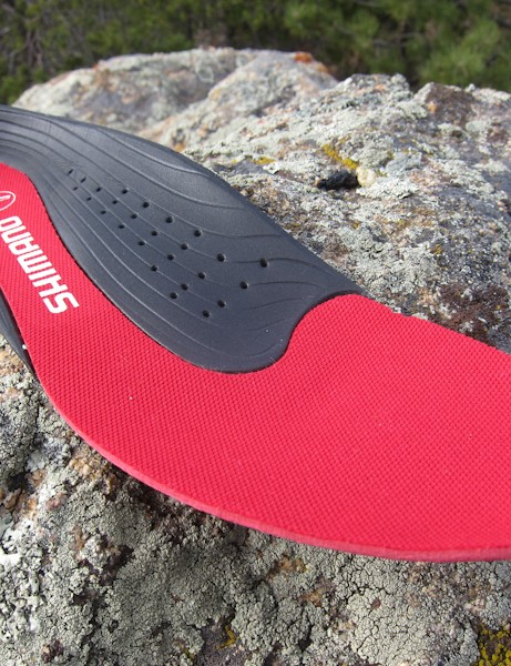 The M162's insole is comfortable and supportive