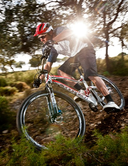 Former downhill world champ Fabien Barel shows what the short-travel Mondraker Lithium RR is capable of