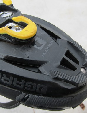 Don't worry about the vented sole. The Glacier RD shares its reinforced nylon plate with the Revo XR3 summer shoe but the vents are sealed off here