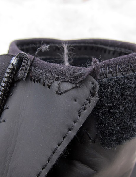 Build quality on our test shoes could be better. We had some stitching start to come undone after just a couple of months
