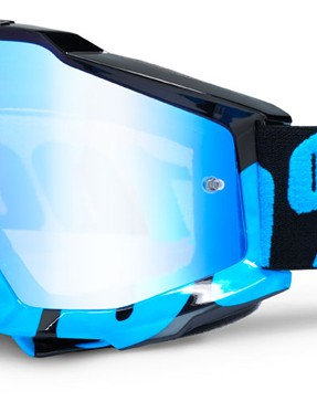 100% Accuri Black/Cyan, £44.99 with blue mirror lens