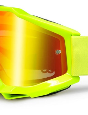 100% Accuri Yellow, £44.99 with gold mirror lens