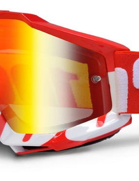 100% Accuri Red, £44.99 with red mirror lens