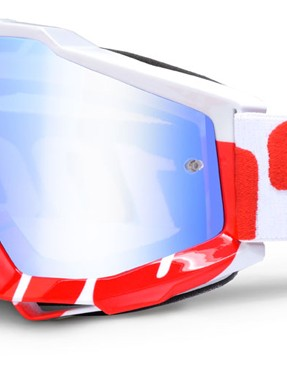 100% Accuri White/Red, £44.99 with green mirror lens
