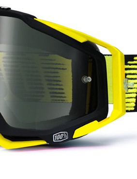 100% Racecraft Black/Yellow, £59.99 with black mirror lens