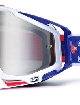 100% Racecraft Varsity, £59.99 with silver mirror lens