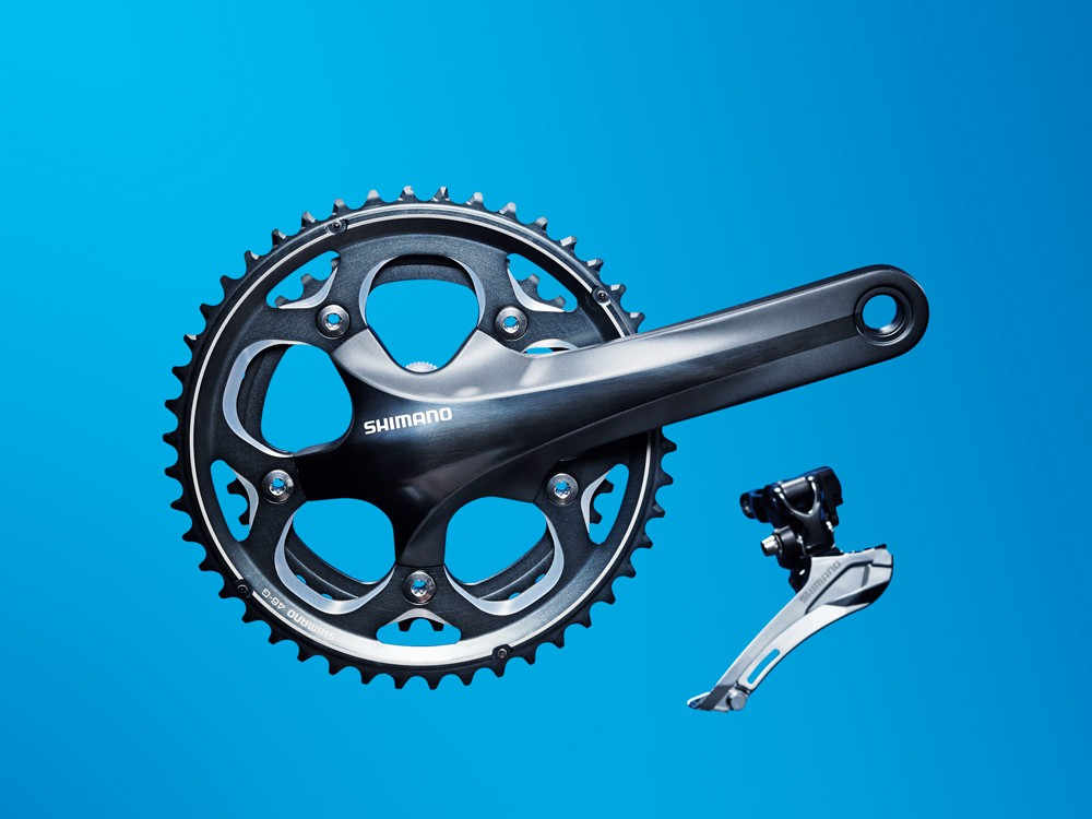 Shimano CX70 chainset & front mech