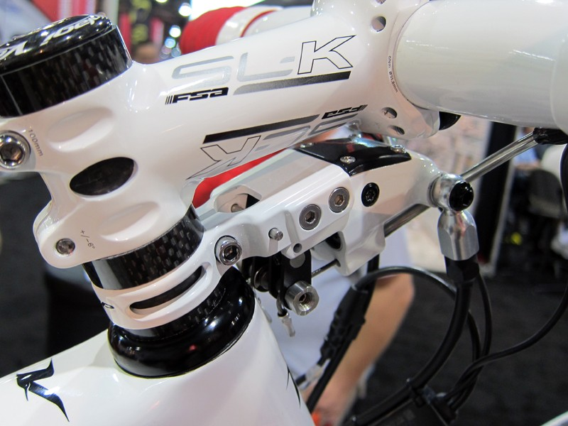 TRP's current solution for hydraulic road disc brakes is the Parabox - an add-on mechanical-to-hydraulic converter that allows the use of existing levers with hydraulic disc brakes. TRP's rumored release would be a far more elegant solution, though, and it should work better and be lighter, too