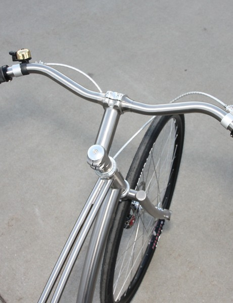 Paul Budnitz says he may offer his custom titanium handlebars aftermarket