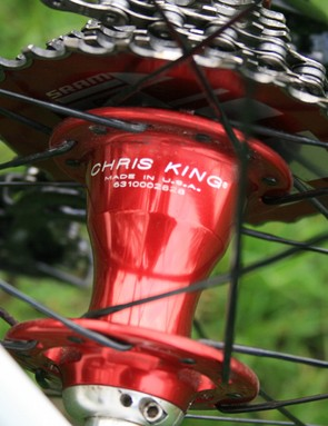 Chris King hub on the Kyklos Featherweight Plus Killer