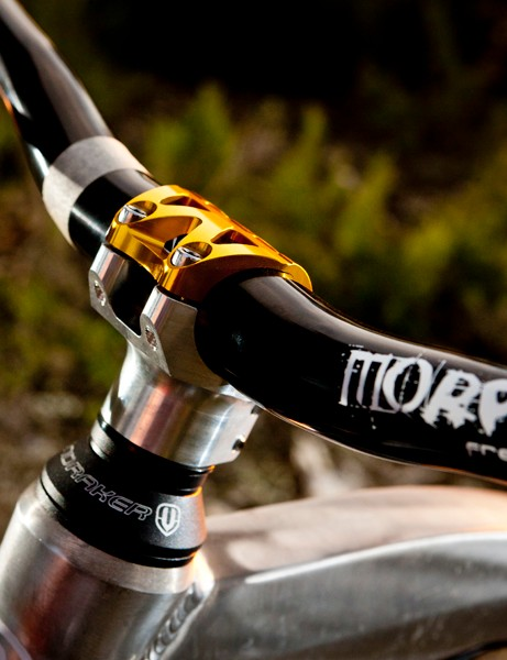 Mondraker are introducing a major innovation for 2013: super-short stems, with front triangle geometry adjusted to suit