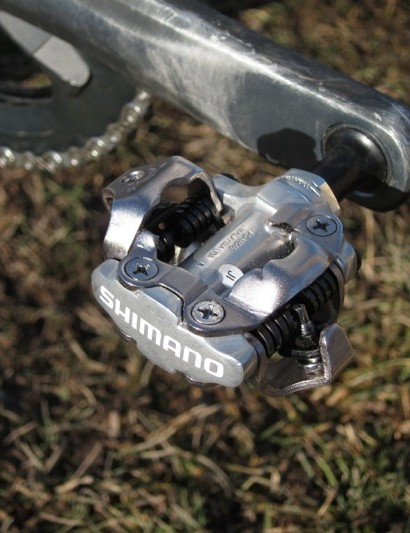 Page's 'working class' Shimano PD-540 pedals