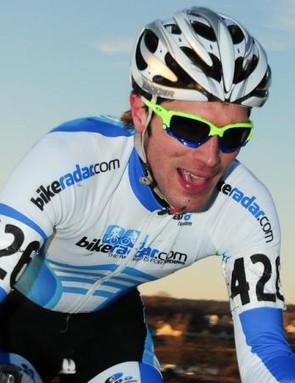 Matt Pacocha in action over the weekend