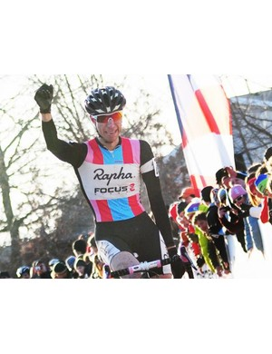 Jeremy Powers (Rapha Focus) wins his first US National Championship