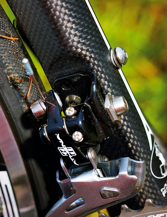 Athena is base-level Campag 11 speed - but it works without fuss