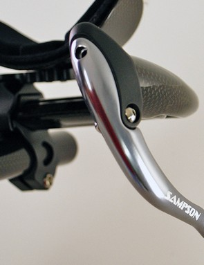 Sampson Sports also recently launched aluminum time trial brake levers