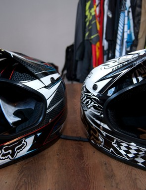 Fox's Rampage full-face helmets are looking good for 2012