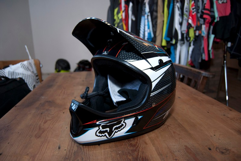 2012 Fox Rampage full-face helmet