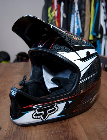 2012 Fox Rampage full-face helmet