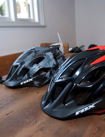 2012 Fox Flux helmets