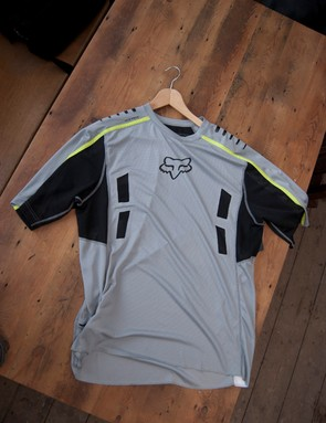 2012 Fox Attack SS jersey (grey)