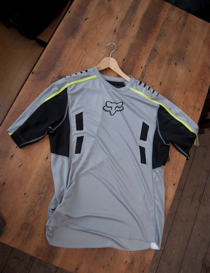 2012 Fox Attack SS jersey (grey)