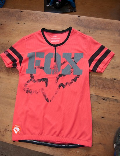 2012 Fox Homerun Diva women's jersey (pink)