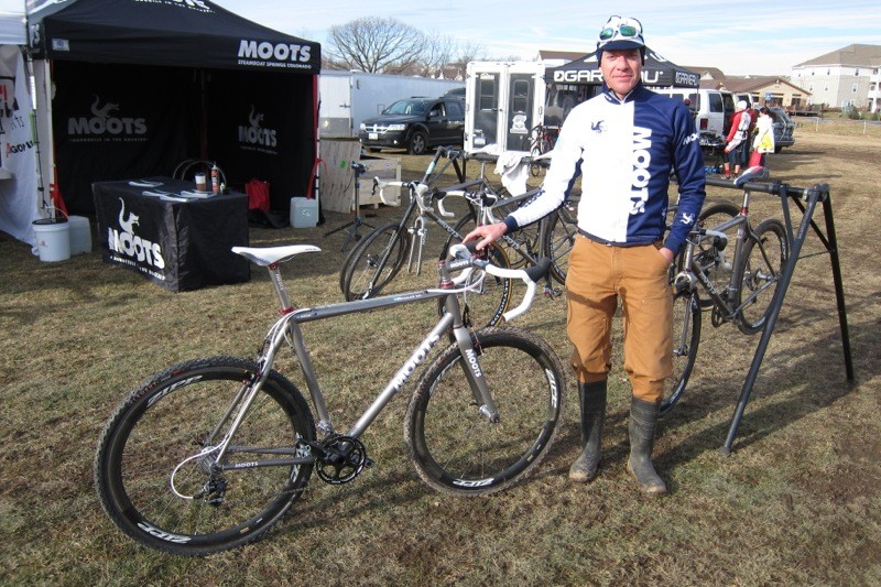 Jon Cariveau with Moots's new Psychlo-X RSL