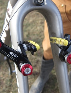 The new Moots-designed fork