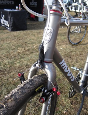 The new fork with TRP hanger and Avid Shorty Ultimate brakes