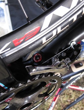Enduro also provide front derailleur pulleys and rear derailleur jockey wheels to Rapha-Focus