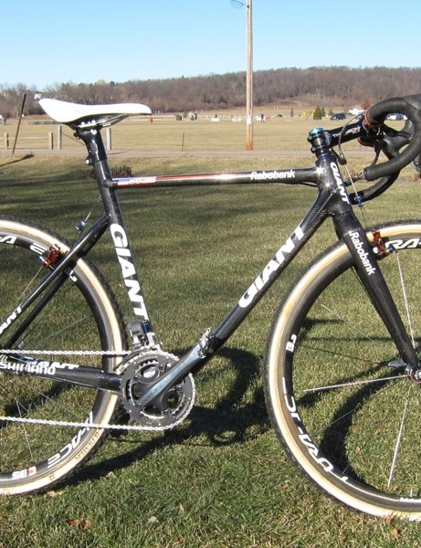 Katie Compton's Rabobank issue Giant TCX Advanced SL