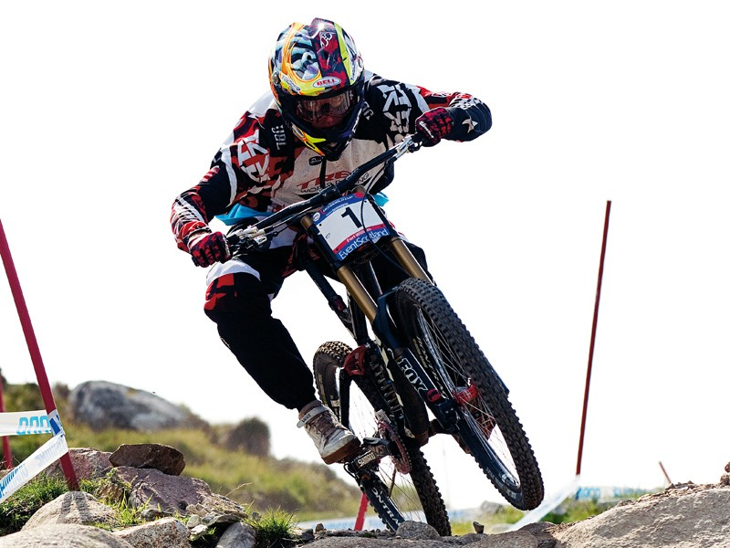 Aaron Gwin had a storming 2011