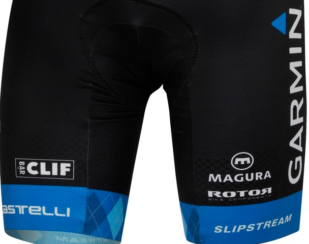 Magura appeared, today, on Garmin-Barracuda's shorts during the 2012 kit unveiling