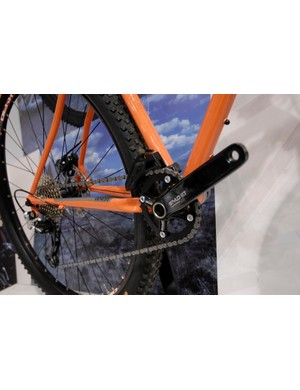 The Genesis Fortitude Race comes with a 1x10 drivetrain